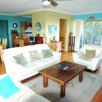 Buena Vista Beach House lounge room - Nambucca Heads holiday rentals - holiday lettings. Mid North Coast accommodation near Valla Beach