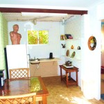 Buena Vista Beach House downstairs kitchenette - Nambucca Heads holiday rentals - holiday lettings. Mid North Coast accommodation near Valla Beach