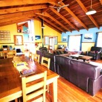 Sanctuary Bush to Beach House lounge - Nambucca Heads holiday rentals - holiday lettings. Mid North Coast accommodation near Valla Beach
