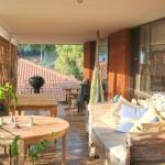Creek St River House verandah - Nambucca Heads holiday rentals - holiday lettings. Mid North Coast accommodation near Valla Beach