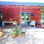 Sanctuary Bush to Beach House entry - Nambucca Heads holiday rentals - holiday lettings. Mid North Coast accommodation near Valla Beach