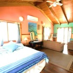 Sanctuary Bush to Beach House main bedroom - Nambucca Heads holiday rentals - holiday lettings. Mid North Coast accommodation near Valla Beach