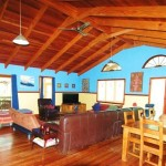 Sanctuary Bush to Beach House living room - Nambucca Heads holiday rentals - holiday lettings. Mid North Coast accommodation near Valla Beach