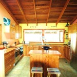 Sanctuary Bush to Beach House kitchen - Nambucca Heads holiday rentals - holiday lettings. Mid North Coast accommodation near Valla Beach