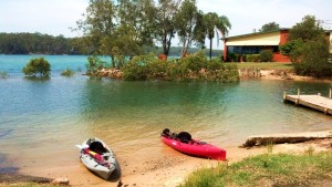Nambucca Heads holiday rentals - holiday lettings. Mid North Coast accommodation near Valla Beach - Nambucca Gold Club Boatramp