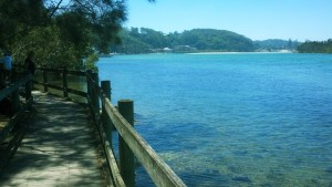 Nambucca Heads holiday rentals - holiday lettings. Mid North Coast accommodation near Valla Beach - Nambucca Heads River Boardwalk